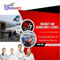 Choose the HighlyStandard Air Ambulance Service in Ranchi by Medilift